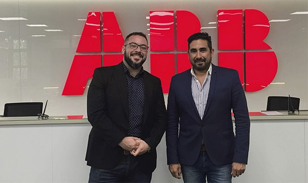 Presentes en ABB Partner Expert Training Days 2019